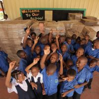 Grade 3 students at Soufrière Primary in St. Lucia. image