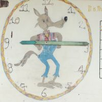 9:15 AM in Belle Vue. A hand-made teaching aid for time and date. image